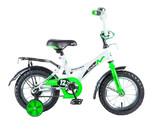 Купить Велосипед NOVATRACK STRIKE 12, белый-зеленый